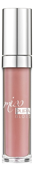 Купить Блеск для губ Miss Pupa Gloss 5мл: 105 Majestic Nude, PUPA Milano