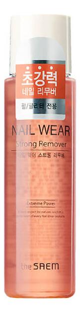 Купить Жидкость для снятия лака Nail Wear Strong Remover 150мл, The Saem