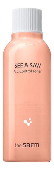 Купить Тоник для жирной кожи See & Saw AC Control Toner 200мл, Тоник для жирной кожи See & Saw AC Control Toner 200мл, The Saem