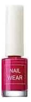 Купить Лак для ногтей Nail Wear 7мл: 79 Rosy Red, The Saem