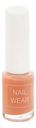 Лак для ногтей Nail Wear 7мл: 84 Celeb Salmon essence the gel nail лак для ногтей серо синий тон 51 8 мл