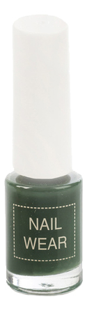 Лак для ногтей Nail Wear 7мл: 89 Deep Green недорого