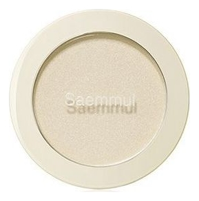 Однотонные румяна Saemmul Single Blusher 5г: GD01 Gold Volume Light