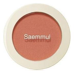 Однотонные румяна Saemmul Single Blusher 5г: OR01 Mandarine Kiss однотонные румяна saemmul single blusher 5г rd02 dry rose