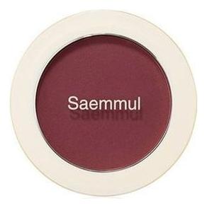 Однотонные румяна Saemmul Single Blusher 5г: RD02 Dry Rose однотонные румяна saemmul single blusher 5г rd02 dry rose