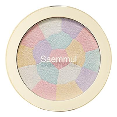 Купить Хайлайтер минеральный Saemmul Luminous Multi Highlighter 8г: 01 Pink White, The Saem