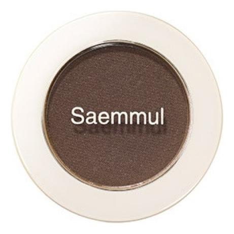 Купить Тени для век матовые Saemmul Single Shadow Matt 1, 6г: BR02, The Saem