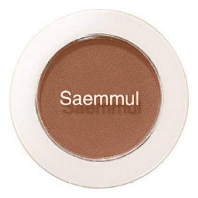 Купить Тени для век матовые Saemmul Single Shadow Matt 1, 6г: BR08, The Saem
