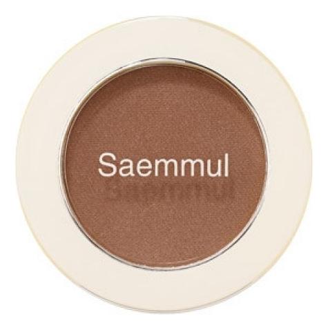 Купить Тени для век матовые Saemmul Single Shadow Matt 1, 6г: BR09, The Saem