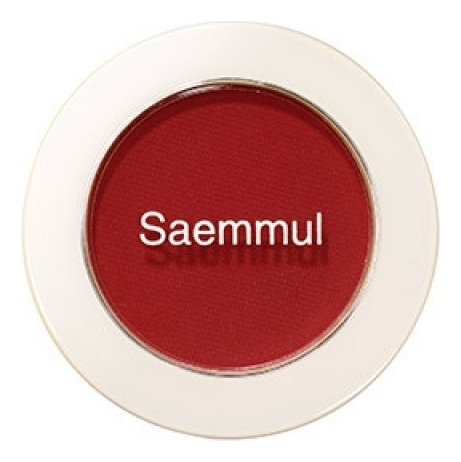 Купить Тени для век матовые Saemmul Single Shadow Matt 1, 6г: RD01, The Saem