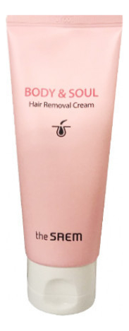Крем для депиляции Body & Soul Hair Removal Cream 100мл