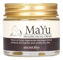 Крем для лица питательный с конским жиром Mayu Healing Facial Cream 70г недорого