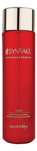 Купить Тонер для лица со змеиным ядом Syn-Ake Anti Wrinkle & Whitening Toner 150мл, Тонер для лица со змеиным ядом Syn-Ake Anti Wrinkle & Whitening Toner 150мл, Secret Key