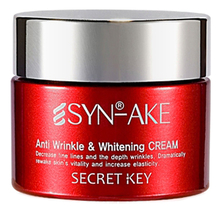 Secret Key Крем для лица со змеиным ядом Syn-Ake Anti Wrinkle & Whitening Cream 50г