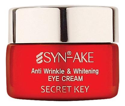 Купить Крем для области вокруг глаз со змеиным ядом Syn-Ake Anti Wrinkle & Whitening Eye Cream 15г, Крем для области вокруг глаз со змеиным ядом Syn-Ake Anti Wrinkle & Whitening Eye Cream 15г, Secret Key