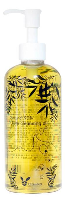 Масло для лица гидрофильное Natural 90% Olive Cleansing Oil 300мл недорого