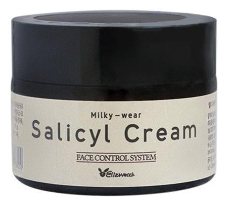 Крем для лица салициловый с эффектом пилинга Milky Wear Salicyl Cream 50мл недорого