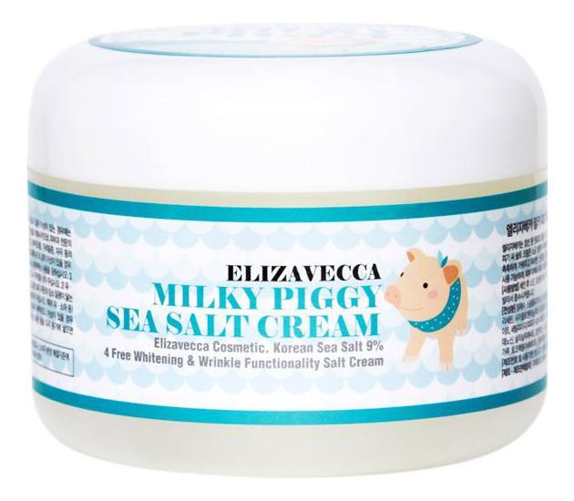 Купить Увлажняющий крем для лица Milky Piggy Sea Salt Cream 100г, Elizavecca