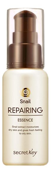 Эссенция для лица с муцином улитки Snail Repairing Essence 60мл secret key тонер с муцином улитки snail repairing 150 мл