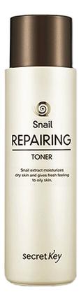 Фото - Тонер для лица с муцином улитки Snail Repairing Toner 150мл тонер для лица с муцином черной улитки black snail all in one toner 150мл