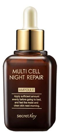 Сыворотка для лица ночная Multi Cell Night Repair Ampoule 50мл