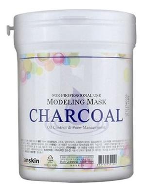 Купить Маска альгинатная с древесным углем Charcoal Modeling Mask: Маска 240г, Anskin