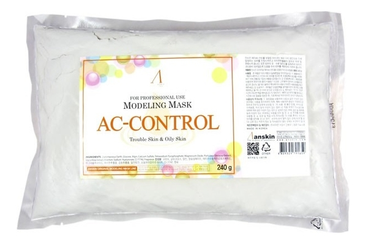 Маска альгинатная против акне AC-Control Modeling Mask Refill 240г: 240г (запасной блок)