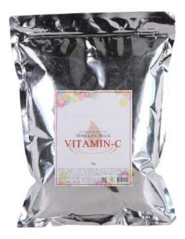 Фото - Маска альгинатная с витамином C Vitamin-C Modeling Mask Refill 1кг: Маска 1000г (запасной блок) альгинатная маска ellevon с витамином с 1000гр