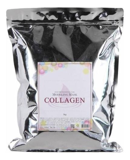 Купить Маска альгинатная с коллагеном укрепляющая Collagen Modeling Mask Refill 1кг: Маска 1000г (запасной блок), Anskin