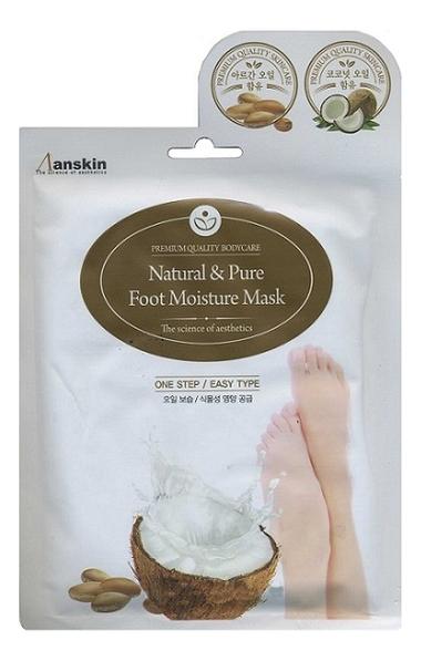 Фото - Маска для ног увлажняющая Natural & Pure Foot Moisture Mask 16мл маска для рук увлажняющая hand moisture pack yellow 16мл