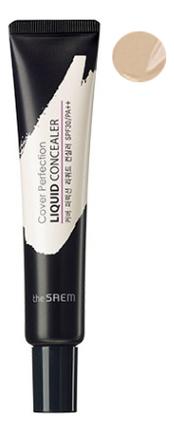 Купить Жидкий консилер для лица Cover Perfection Liquid Concealer 15мл: 01 Clear Beige, The Saem