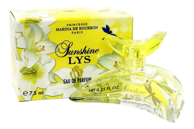 Princesse Marina de Bourbon Lys Sunshine: парфюмерная вода 7,5мл marina de bourbon lys paradise парфюмерная вода 30мл