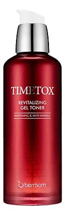 Тонер для лица антивозрастной Timetox Revitalizing Gel Toner 130мл антивозрастной тонер для лица с пептидами bio ex cell peptide toner 130мл