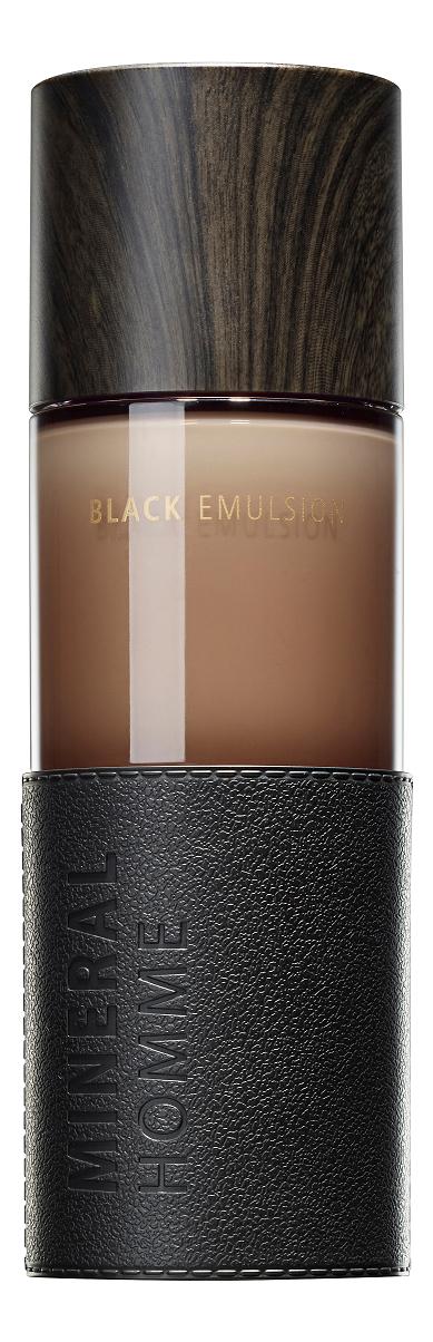 Увлажняющая эмульсия для лица Mineral Homme Black Emulsion 130мл