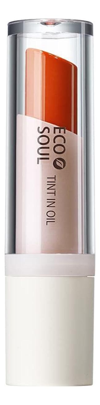Тинт минеральный Eco Soul Mineral Tint In Oil 4г: OR01 Orange Red