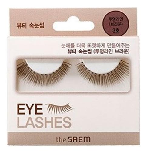 Накладные ресницы Eyelash Clear: Line 3