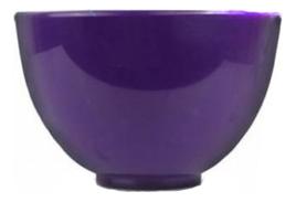 Чаша для размешивания маски Rubber Ball Middle Purple 500сс