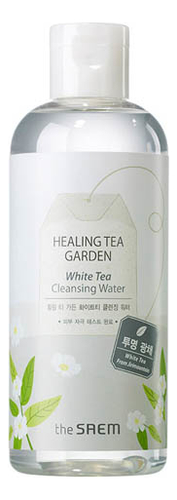 Очищающая вода с экстрактом белого чая Healing Tea Garden White Cleansing Water 300мл