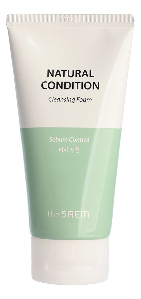 Пенка для жирной кожи Natural Condition Cleansing Foam Sebum Controlling 150мл фото