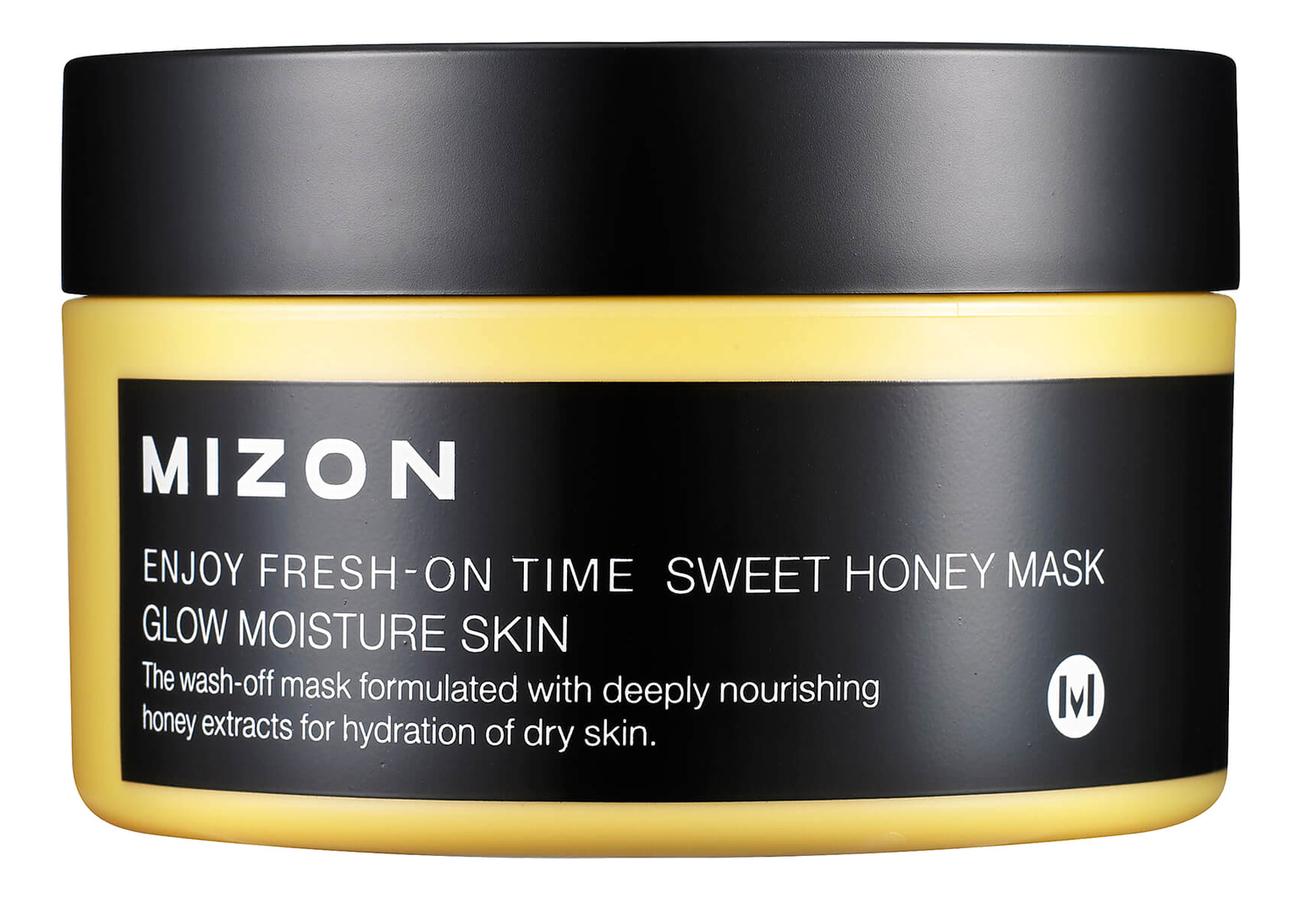 Купить Медовая маска для питания и увлажнения сухой кожи лица Enjoy Fresh-On Time Sweet Honey Mask 100мл, Mizon