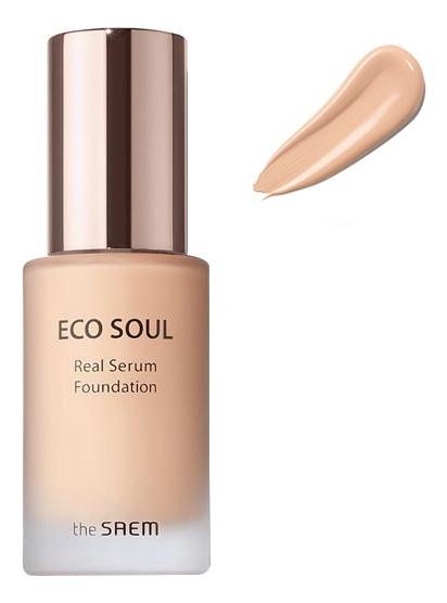 База-сыворотка под макияж Real Serum Foundation SPF30 PA++ 35мл: 21 Light Beige недорого