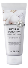 The Saem Пенка-скраб для лица Natural Condition Scrub Foam Deep Pore Cleansing 150мл