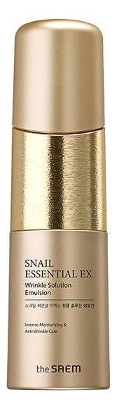 Эмульсия для лица антивозрастная Snail Essential EX Wrinkle Solution Emulsion 150мл эмульсия the skin house wrinkle system wrinkle collagen emulsion для лица 130 мл