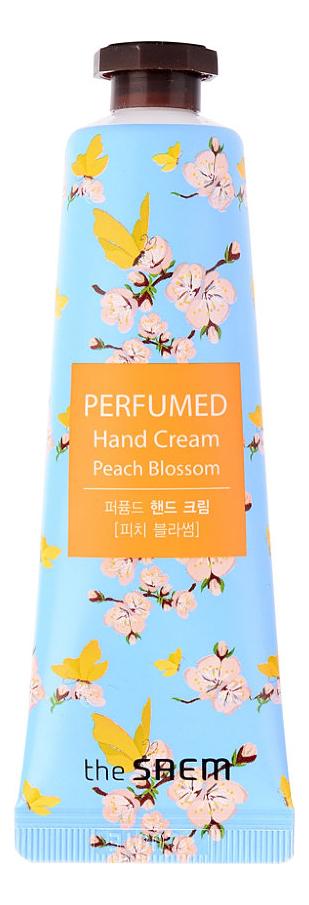 Купить Крем для рук Perfumed Hand Cream Peach Blossom 30мл, The Saem
