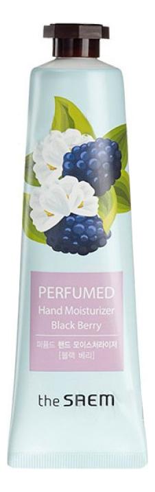 Купить Крем для рук увлажняющий Perfumed Hand Moisturizer Black Berry 30мл, The Saem