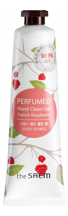 Крем-гель для рук Perfumed Hand Clean Gel French Raspberry 30мл