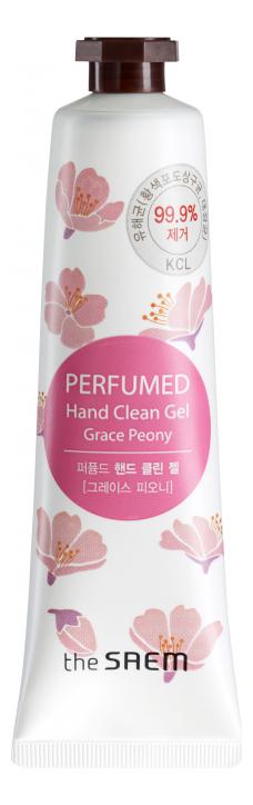 Купить Крем-гель для рук Perfumed Hand Clean Gel Grace Peony 30мл, The Saem