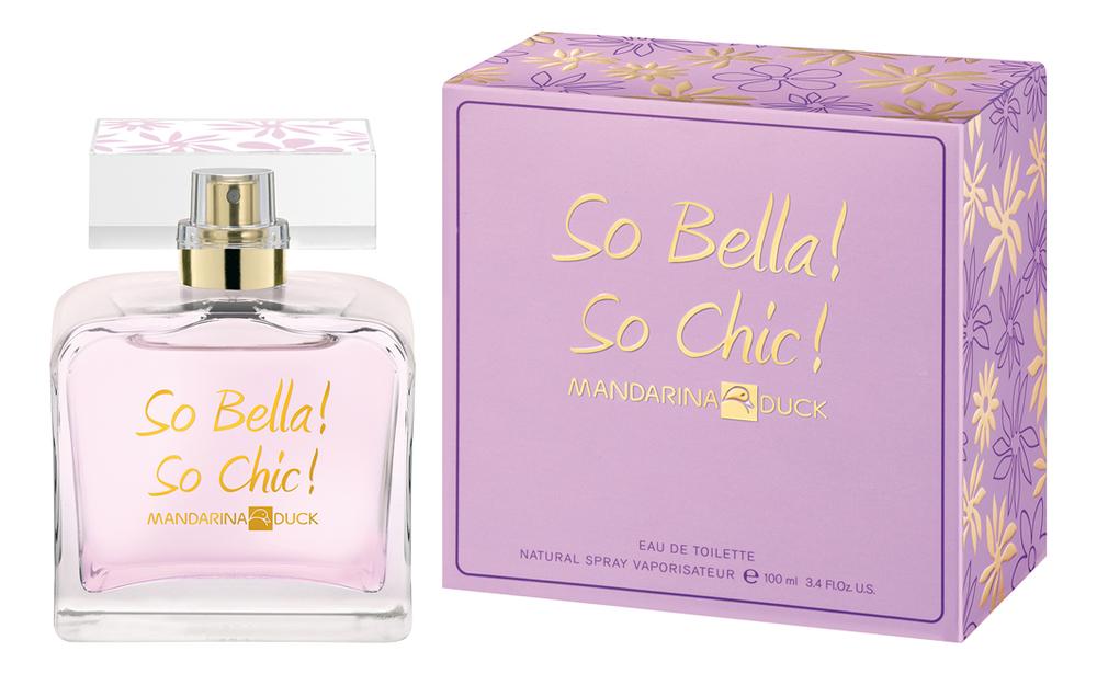 Mandarina Duck So Bella! So Chic!: туалетная вода 100мл mandarina duck men туалетная вода 100мл