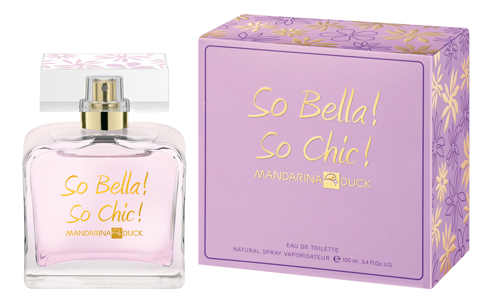 Mandarina Duck So Bella! So Chic!: туалетная вода 100мл фото