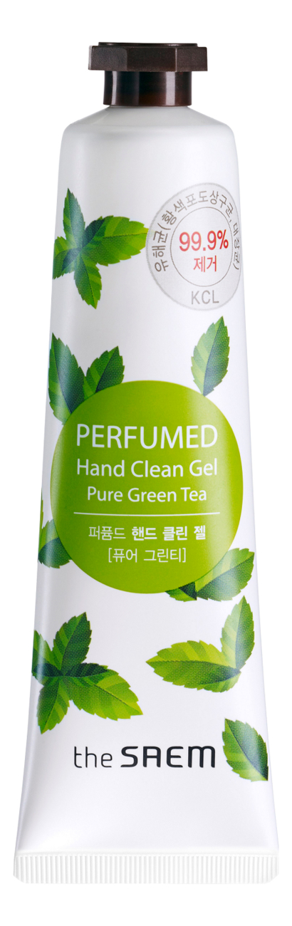 Купить Крем-гель для рук Perfumed Hand Clean Gel Pure Green Tea 30мл, The Saem